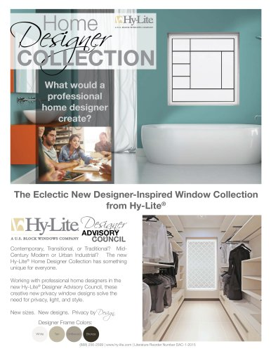 Home Designer Collection Hy Lite
