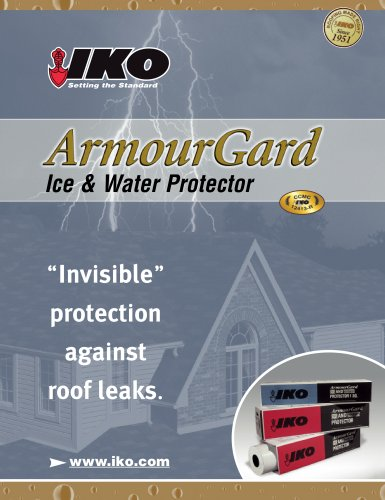 ArmourGard Ice & Water Protector
