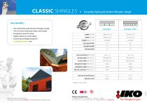 CLASSIC SHINGLEs • Top quality high grade bitumen fibreglass shingle - 2
