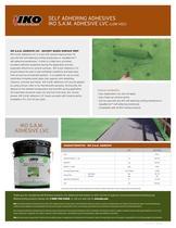 IKO S.A.M. Adhesive LVC - 1