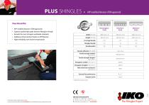 PLUS SHINGLES • APP modified bitumen (TÜM approved) - 2