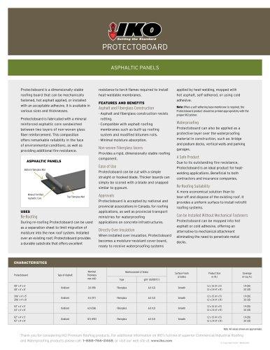 Protectoboard Brochure