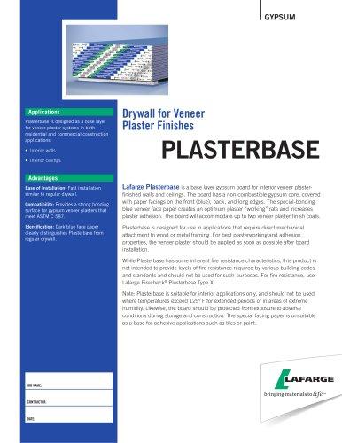 Drywall for Veneer  Plaster Finishes