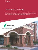 Masonry Cement - 1