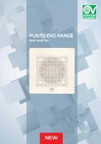 Punto Evo RANGE Wall axial fan