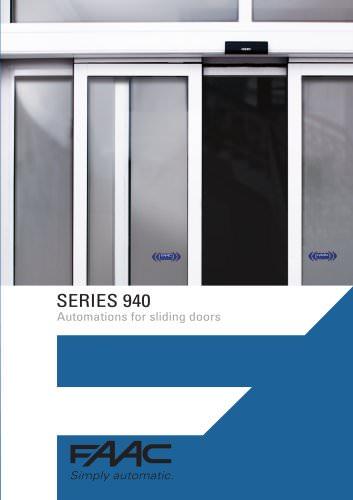 Automatic doors 940