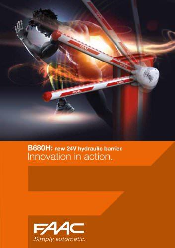 B680 Hydraulic Barrier