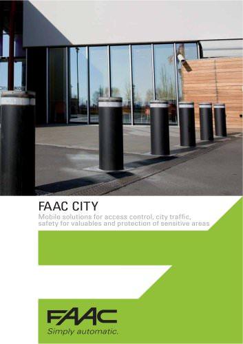FAAC CITY - Traffic bollards