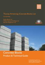 Concrete blocks products & technical guide