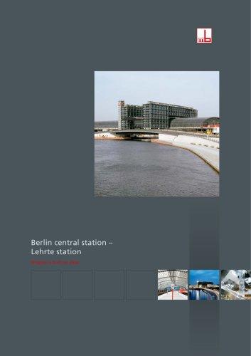 Berlin central station – Lehrte station