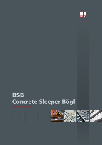 BSB - Concrete Sleeper Bögl