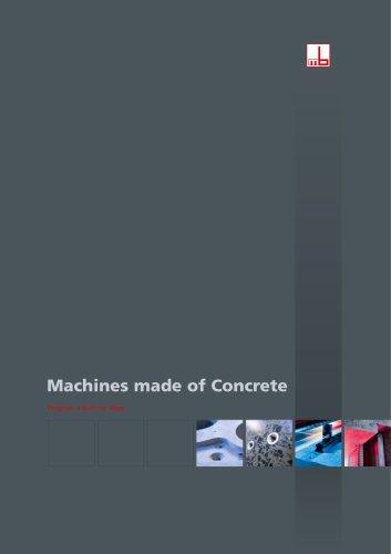 Machines made of Concrete