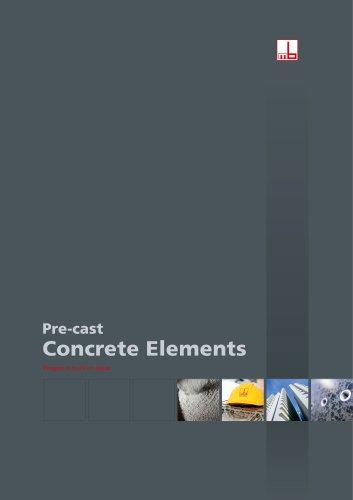 Pre-cast Concrete Elements