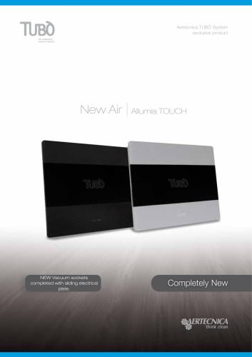 New Air Allumia Touch |  NEW Vacuum sockets completed with sliding electrical plate.