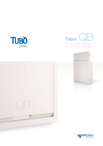 QB built-in enclosure in high-resistance thermoplastic material