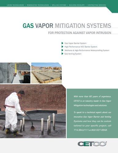 GAS VAPOR MITIGATION SYSTEMS