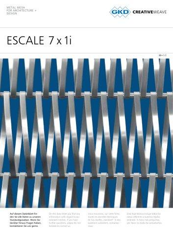 ESCALE 7 x 1i