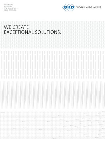 We create exceptional solutions.