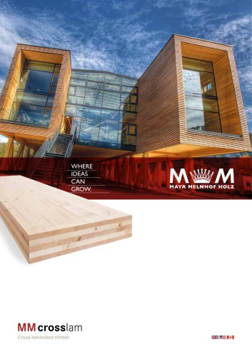 MM crosslam -  Cross-laminated timber