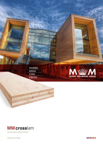 MM crosslam - Cross-laminated timber (Technical Data)