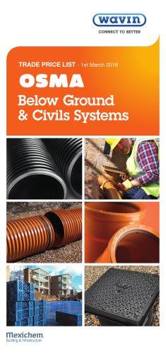 Below Ground & Civils Systems - Wavin - PDF Catalogs