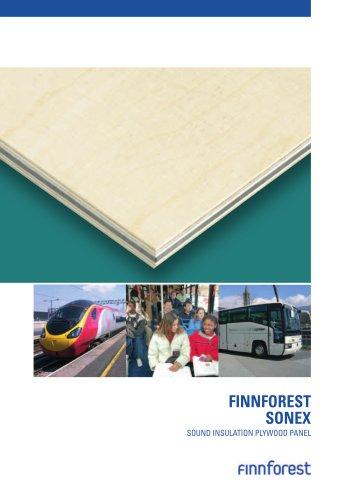 FINNFOREST SONEX SOUND INSULATION PLYWOOD PANEL