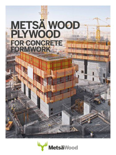 Plywood for concrete formwork