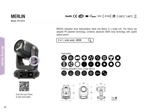Merlin Pr Lighting Pdf Catalogs