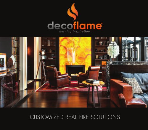 Customized Real Fire Solutions