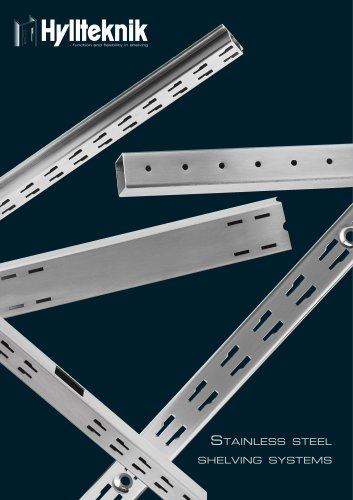 STAINLESS STEEL SHELVING SYSTEMS