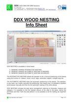 DDX WOOD NESTING Info Sheet