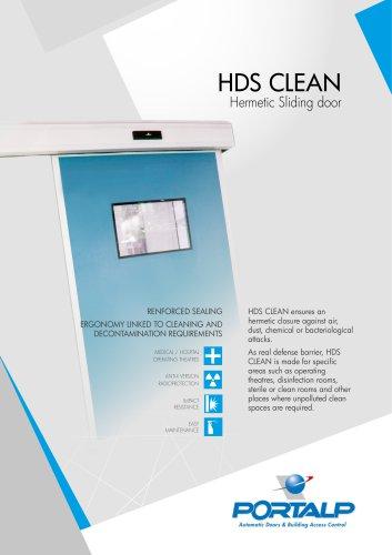 HDS CLEAN Hermetic sliding door