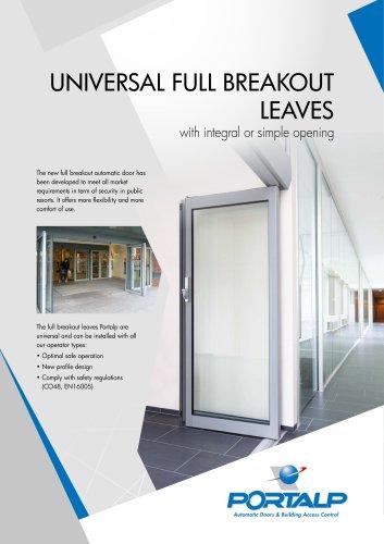 Universal full breakout leaves (FBO)