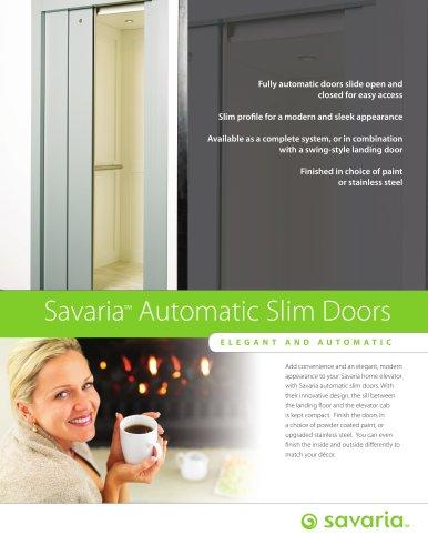 Automatic Slim Doors