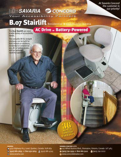 B.07 Stairlift