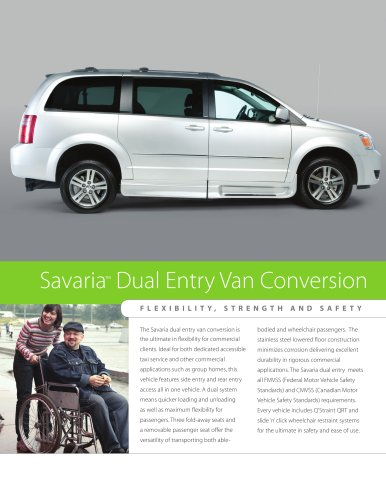 Savaria Dual Entry Conversion