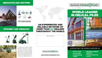 WORLD LEADER IN HELICAL PILES - 1
