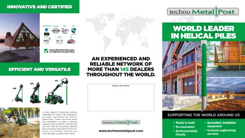 WORLD LEADER IN HELICAL PILES