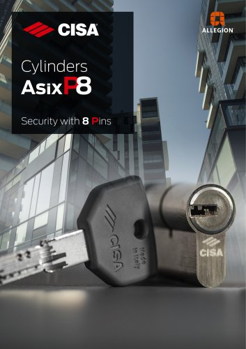 Cylinders AsixP8 Security with 8 Pins