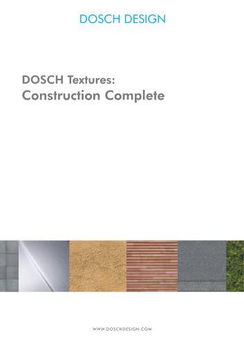 DOSCH Textures: Construction Textures Complete 19