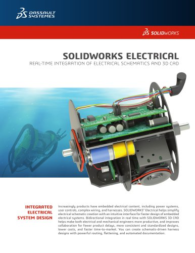 Electrical Design Dassault Systemes Solidworks Corp Pdf Catalogs Documentation Brochures