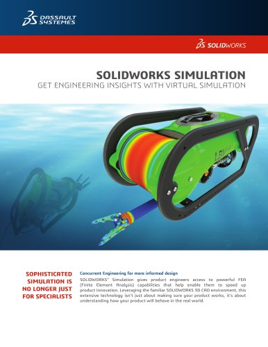Solidworks Simulation Dassault Systemes Solidworks Corp Pdf Catalogs Documentation Brochures