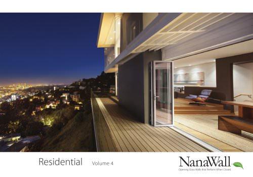 NanWall Residential Volume 4