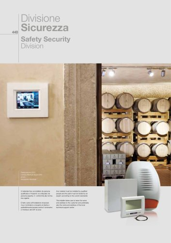 2018/19 General Catalogue - Safety Security Division