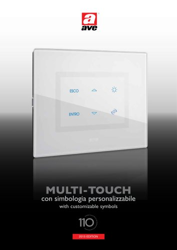 MultiTouch with customizable symbols