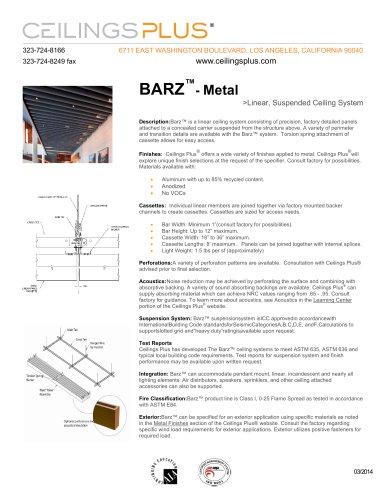 BARZ?- Metal