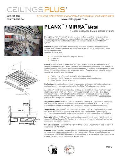 PLANX? / MIRRA?Metal