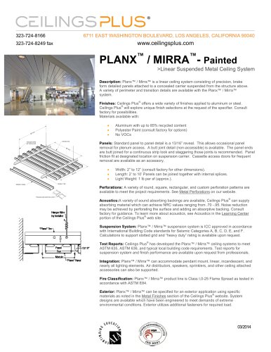 PLANX? / MIRRA?- Painted