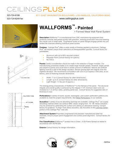 WALLFORMS?- Painted