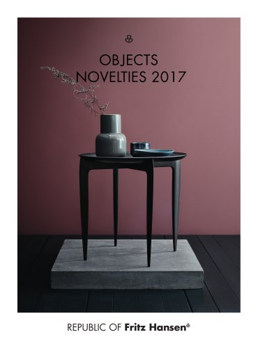 Objects brochure 2017